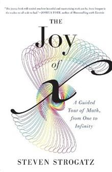 Joy of X : A Guided Tour of Math, from One to Infinity