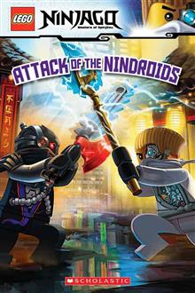Attack of the Nindroids (Lego Ninjago: Reader)