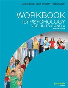 Workbook for Psychology VCE Units 3 and 4 7e