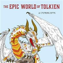 The Epic World of Tolkien: A Middle-earth Colouring Book