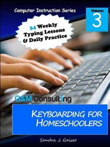 Keyboarding for Homeschoolers