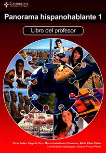 IB Diploma: Panorama hispanohablante 1 Libro del Profesor with CD-ROM