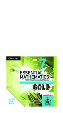 Essential Mathematics Gold for the Australian Curriculum Year 7 Online Teaching Suite (Card)