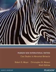Case Studies in Abnormal Behavior: Pearson New International Edition