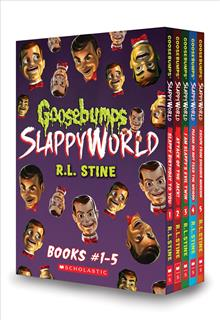 Goosebumps Slappyworld Books #1-5