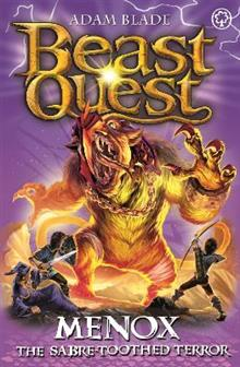 Beast Quest: Menox the Sabre-Toothed Terror: Series 22 Book 1