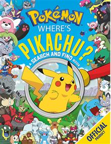Where's Pikachu? A Search and Find Book: Official Pokemon