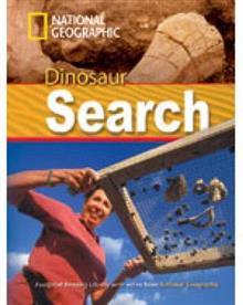 Dinosaur Search + Book with Multi-ROM: Footprint Reading Library 1000