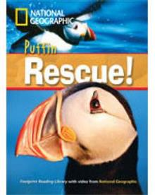 Puffin Rescue! + Book with Multi-ROM: Footprint Reading Library 1000