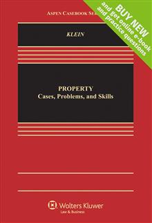 Property: Cases, Problems, and Skills