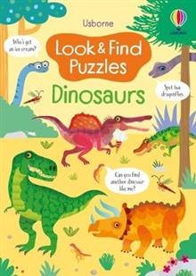 Look and Find Puzzles: Dinosaurs