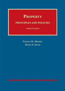 Property: Principles and Policies