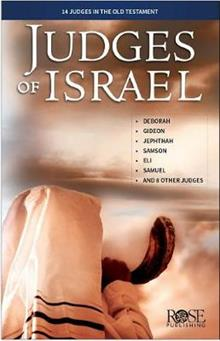 Judges of Israel Pamphlet 5pk