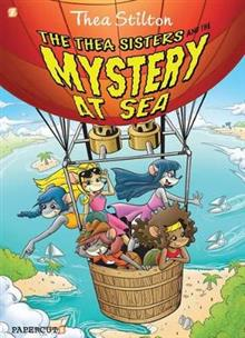 The Thea Sisters and the Mystery at Sea: Thea Stilton 6