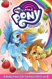 My Little Pony: The Manga - A Day in the Life of Equestria Vol. 3