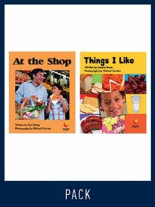 Flying Start Guided Reading Level 2, Pack 9: Paired student books (6x6), vocabulary starter (1) and lesson plan (1)