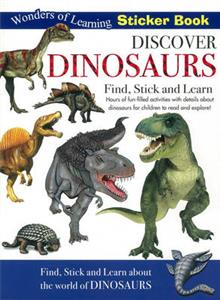 Wonders of Learning Sticker Book - Dinsoaurs
