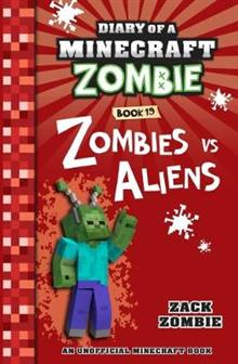 Diary of a Minecraft Zombie #19: Zombies vs. Aliens