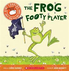 Kiwi Corkers: Frog Footy Player