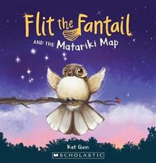 FLIT THE FANTAIL AND THE MATARIKI MAP