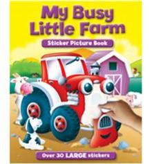 My Busy Farm Sticker & Activity Book