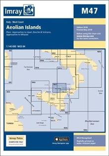 Imray Chart M47: Aeolian Islands