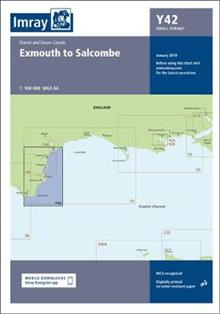 Imray Chart Y42: Y42 Exmouth to Salcombe (Small Format)