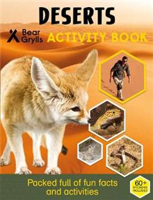 Bear Grylls Sticker Activity: Desert