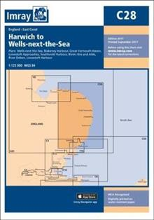 Imray Chart C28: Harwich to Wells-next-the-Sea