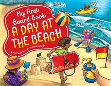 My First Board Book: A Day at the Beach