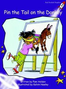 Red Rocket Readers: Fluency Level 3 Fiction Set A: Pin the Tail on the Donkey