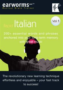 Rapid Italian: 200+ Essential Words and Phrases Anchored into Your Long Term Memory with Great Music