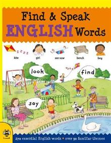Find & Speak English Words: Look, Find, Say