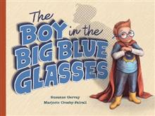 The Boy in the Big Blue Glasses