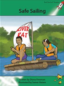 Red Rocket Readers: Advanced Fluency 2 Fiction Set A: Safe Sailing