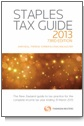 Staples Tax Guide 2013