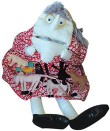 Old Woman who Swallowed a Fly (Lg puppet