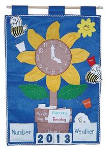 Sunflower Activity Wall Hanging
