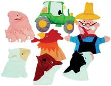 Old MacDonald Hand Puppets (set of 8)