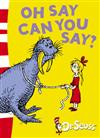 Oh Say Can You Say?: Green Back Book