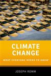 Climate Change: What Everyone Needs to Know (R)