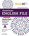American English File 2e Starter Multi-pack A