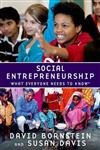 Social Entrepreneurship: What Everyone Needs to Know (R)