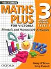 Maths Plus for Victoria - Mentals and Homework Activities Year 3