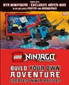 LEGO NINJAGO Build Your Own Adventure Greatest Ninja Battles: with Nya minifigure and exclusive Hover-Bike model