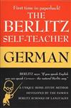 The Berlitz Self-Teacher - German: A Unique Home-Study Method Developed by the Famous Berlitz Schools of Language