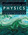 Fundamentals of Physics: v. 2, Chapters 21-44