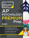 Princeton Review AP Psychology Premium Prep, 2021