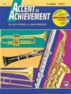 Accent on Achievement, Bk 1: B-Flat Clarinet, Book & CD