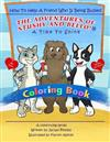 A Time to Shine: How to Help a Friend Who Is Being Bullied - Coloring Book: The Adventures of Stushy and Bello!